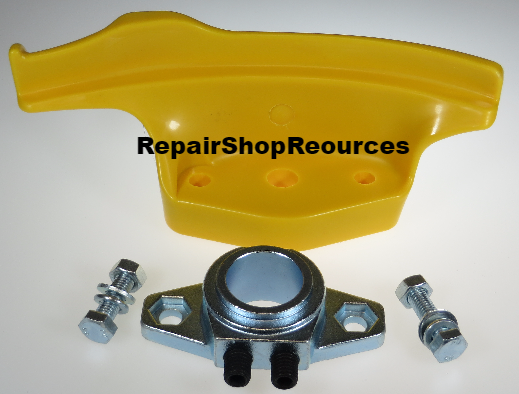 Tire Changer Nylon Mount Demount Duck Head & Bracket 28mm Round Hole