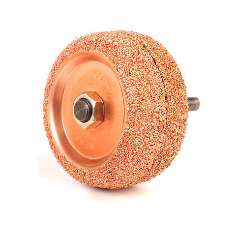 """Back to Back Tire Patch Buffing Wheels, 2-1/2"""" 3/8"""" arbor hole, repair buffer"""