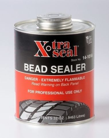 (6) 32oz cans EXTRA THICK BEAD SEALER -  Quart can  - black tire repair