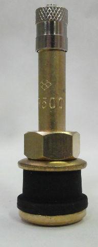 "(50) pack TR500 Brass Truck Tire Valve, Straight, 2"", .625"" valve hole - TR 500"