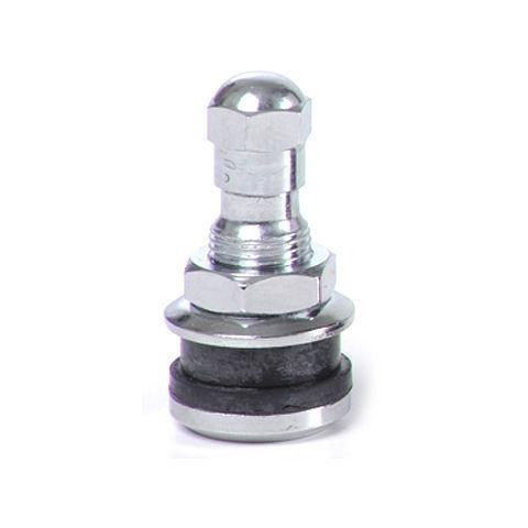 "(50 total valves & parts) TR416 1"" Chrome bolt-in Tire Valve Stem TR 416"