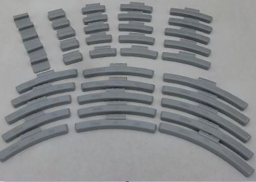 40 piece FN Style Wheel Weight Assortment, Clip on balancing 10-45 g MADE IN USA