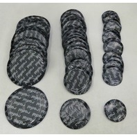 """(50) piece 1-5/8"""" Small Round USA Style Universal Repair Tube Radial Tire Patch"""