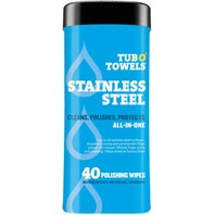 Tub o Towels Stainless Steel 40 count