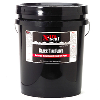 CHEMICAL, Tire Paint, 5 Gallon (19L) Black Tire Paint READY TO USE, 14-154