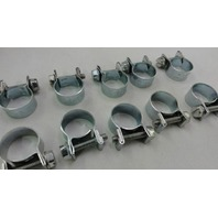"""(10) Fuel Injector Hose Clamps 1/4"""" injection"""