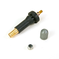 TPMS Valve-Snap-in Valve fits multiple vehicles, may ship with black or gray cap