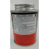 Tire Tube Patch Chemical Vulcanizing Cement 8oz- 6 QTY