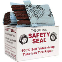 Safety Seal Tire Plugs, 60 per box, tire repair brown plugs, 4""