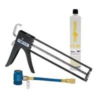 SpotgunTM Oil Injection Kit R-134a hose, R-12 adapter, 8 oz Cartridge PAG 46 Oil
