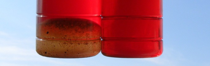 Diesel fuel test can detect water content