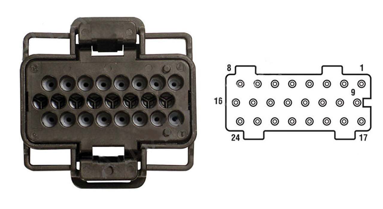 ... 2003-2010 6.0L Ford PowerStroke Fuel Injector Control Module (FICM)  Connector Pigtail