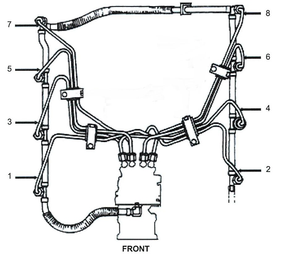 6 9l and 7 3l diesel fuel injection lines for ford and navistar  applications