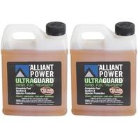 Alliant Power ULTRAGUARD Diesel Fuel Treatment | 2 Pack of 32 oz Jugs | # AP0502