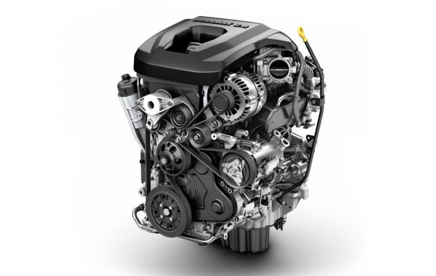 GMC Canyon Diesel Engine - compliments of GMC