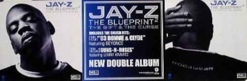 Jay z 2002 blueprint 2 big 2 sided promotional poster flawless new click thumbnails to enlarge malvernweather Choice Image