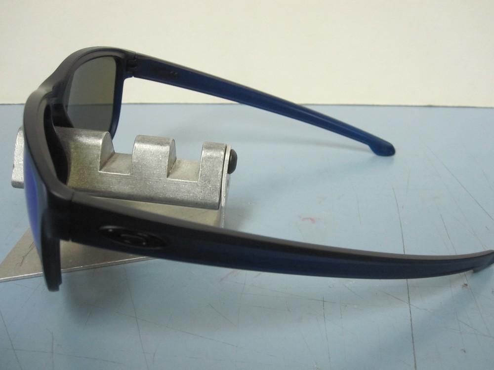6383407278 ... OAKLEY mens SLIVER R sunglass Matte Blue Sapphire Iridium OO9342-09 NEW  in baggy ...