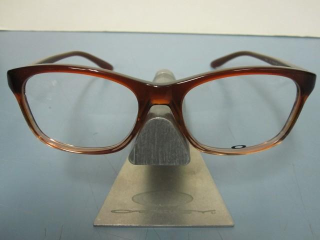 89b541e87dd8 OAKLEY womens RX eyeglass frame TAUNT brown fade OX1091-0452 NEW in Oakley  case