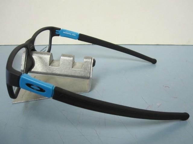 ad1f9c82b8 OAKLEY mens RX eyeglass frame Marshal Trubridge Sky Blue OX8091-0453 New In  Box