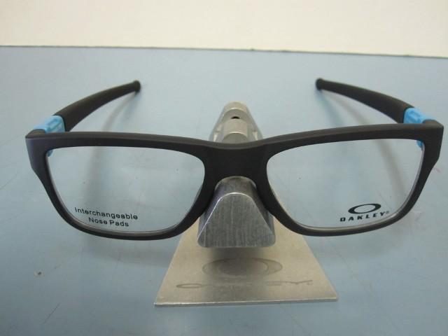 c50793a48a6 OAKLEY mens RX eyeglass frame Marshal Trubridge Sky Blue OX8091-0453 New In  Box