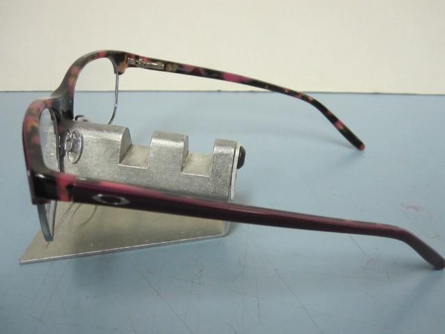 000aacf8f0 OAKLEY womens Ponder OX1134-0552 Purple Mosaic RX eyeglass frame NEW in O  Box
