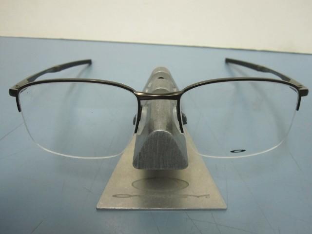 c866900a9e OAKLEY mens RX eyeglass frame TAPROOM 0.5 pewter OX3202-0154 NEW w Oakley  case