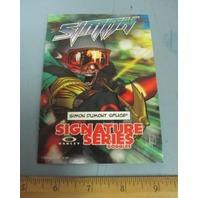 OAKLEY 2010 SIMON DUMONT SKI dealer promo display card New Old Stock Flawless