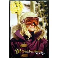 OAKLEY 2009 GRETCHEN BLEILER snowboard goggle poster ~MINT condition~!