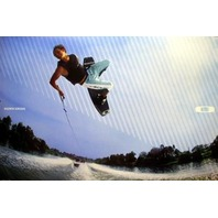 OAKLEY 2007 ANDREW ADKISON wakeboard promotional poster ~FRESH~NEW old stock~!