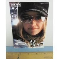 OAKLEY 2006 GRETCHEN BLEILER SNOWBOARD dealer promo display card 2 New Old Stock