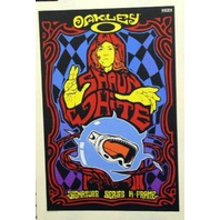 OAKLEY 2007 SHAUN WHITE snowboard promo poster New Old Stock Flawless Perfection