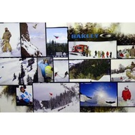 OAKLEY 2007 JJ THOMAS team collage snowboard HUGE poster Flawless New Old Stock