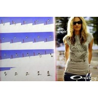 OAKLEY 2006 Gretchen Bleiler snowboard collage poster New Old Stock Flawless