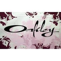OAKLEY surf snowboard ski 2007 script display promotional poster New Old Stock