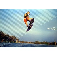 OAKLEY 2007 Amber Wing wakeboard promo poster MINT condition NEW old stock