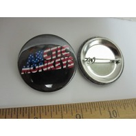 ARCTIC MONKEYS 2011 STARS AND STRIPES TOUR promotional badgebutton New Old Stock