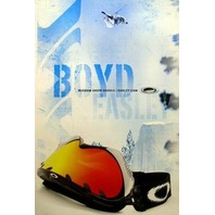 OAKLEY 2002 Boyd Easley Big Air ski promotional poster New Old Stock Flawless