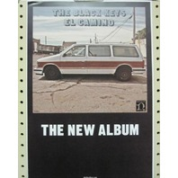BLACK KEYS 2011 EL CAMINO PROMOTIONAL POSTER ~NEW old stock~MINT condition~!!