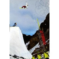 OAKLEY 2005 JJ Thomas snowboard promotional poster New Old Stock Flawless