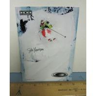 OAKLEY 2006 SETH MORRISON SKI dealer promo display card New Old Stock Flawless