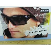OAKLEY sun snow 2006 CHRIS WARD SURF dealer promo display card New Old Stock