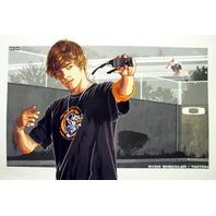 OAKLEY 2007 RYAN SHECKLER twitch skateboard promo poster Flawless New Old Stock