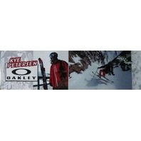 OAKLEY ski 2010 KYE PETERSEN ka-pow! BIG duratrans poster ~NEW~!!