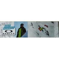 OAKLEY snowboard 2010 JAKE BLAUVELT boo-yaa! BIG duratrans poster ~NEW~!!