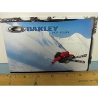 OAKLEY surf sun snow 2007 PEP FUJAS SKI dealer promo display card New Old Stock