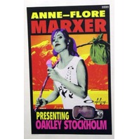OAKLEY 2007 ANNE-FLORE MARXER snowboard poster ~MINT condition~!!
