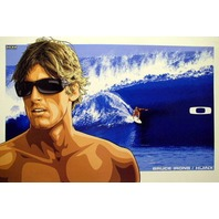 OAKLEY 2007 BRUCE IRONS HIJINX SURF poster HUGE & MINT Flawless condition
