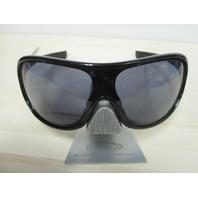 OAKLEY womens Immerse Sunglass Polished Black/Grey OO9131-08 New In Box