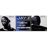 JAY-Z 2002 blueprint 2 BIG 2 sided promotional poster Flawless New Old Stock