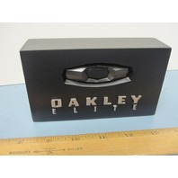 OAKLEY  2011 Elite Logo Plaque Dealer Display Collector Rare New Boxed Free Ship